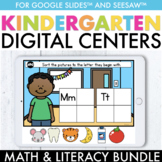 Digital Centers Kindergarten Digital Learning ( Kindergart