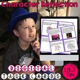 Digital Character Reflection Task Cards