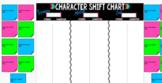Digital Character Shift Chart Google Slides Group Work Any Novel