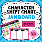 Digital Character Shift Chart Jamboard Background Any Novel