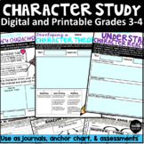 Digital Character Study Resources, Journal, and Assessments