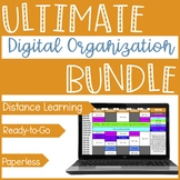 Digital Checklist Bundle {In Person & Distance Learning}