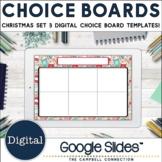 December Choice Board Template   Christmas Theme 3