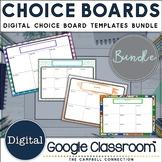 Editable Choice Board Templates   Digital   Bundle