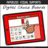 Digital Choice Boards {Paperless Visual Supports}