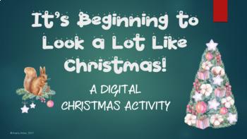 Digital Christmas Activity for iPad or Chromebook