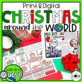 Digital Christmas Around the World | Distance Learning | Christmas Activities