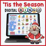 DIGITAL Christmas Themed Vocabulary Bingo Game - Holiday Fun!