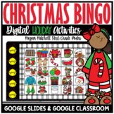 Digital Christmas Bingo | Distance Learning | Google Classroom