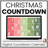 Digital Christmas Countdown | Christmas Activities | Dista