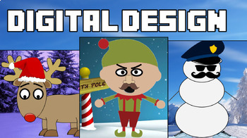 Digital Christmas Design Bundle