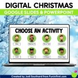 Digital Christmas Holiday Party | Google Meet Zoom | Dista
