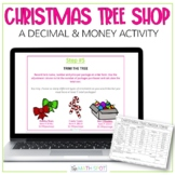 Digital Christmas Math Activity for 5th Grade | Decimals a