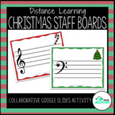 Digital Christmas Music Magnet Boards - For Distance Learning