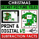 Christmas Math | Subtraction Facts | Fact Fluency