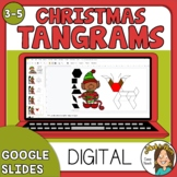 Digital Christmas Tangrams (Geometric Figure Pictures) GOO