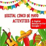 Digital Cinco De Mayo Activities Share and Go-No-prep
