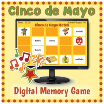 Cinco de Mayo Interactive Memory Game
