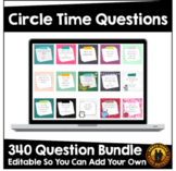 Digital Circle Time Questions | Over 150 questions | GROWI