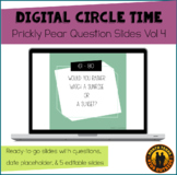 Digital Circle Time Questions Vol 4 | Prickly Pear | Dista