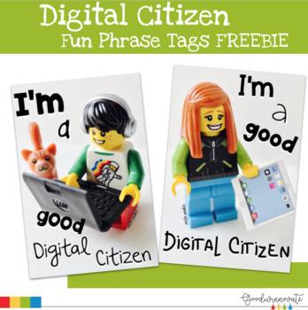 Digital Citizen Brag Tag Freebie