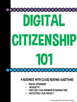 Business Technology - Digital Citizenship 101