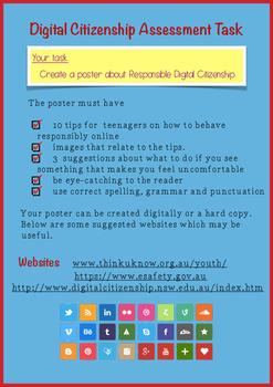 Digital Citizenship Assessment Task