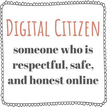 Digital Citizenship BUNDLE | Word Wall | Essential Questions | Activity