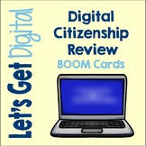 Digital Citizenship Boom Cards | Distance Learning