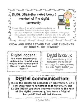 Digital Citizenship Brochure