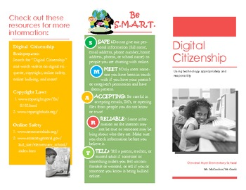 Digital Citizenship Brochure