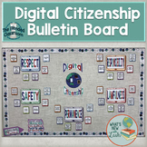 Digital Citizenship Bulletin Board Classroom Decor