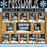 Digital Citizenship Bulletin Board, Contract & Activity: Password Security Tips