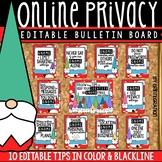 Digital Citizenship Bulletin Board, Contract & Activity: Online Privacy Tips