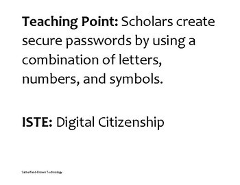 Digital Citizenship: Creating A Secure Password