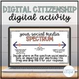 Digital Citizenship Digital Counseling Reflection Activity