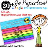 Beginning of the Year Activities Digital Citizenship Google™ Based Flipbook