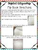 Digital Citizenship Foldable Flip Book
