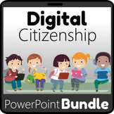 Digital Citizenship Interactive PowerPoint Bundle