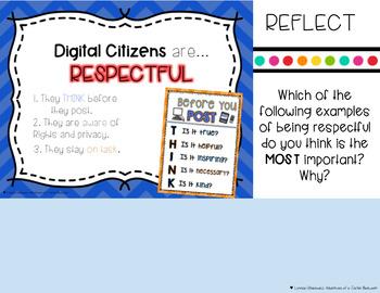 Digital Citizenship & Internet Safety Interactive Digital Notebook