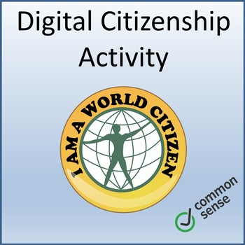 Digital Citizenship Lesson Activity