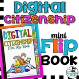 Digital Citizenship Mini Flip Book