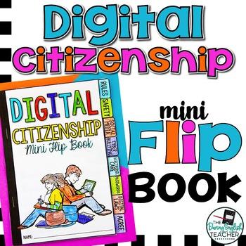 Digital Citizenship Mini Flip Book