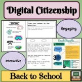 Digital Citizenship - Online Etiquette - Digital Interacti
