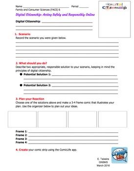 Digital Citizenship - Online Superheroes! - Whole iPad Lesson Bundle