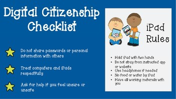 Digital Citizenship Poster