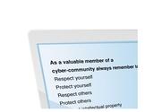 Digital Citizenship Poster - PDF