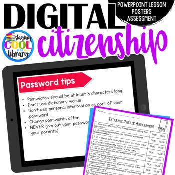 Digital Citizenship PowerPoint Lesson