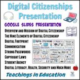 Digital Citizenship Presentation: Google Educator