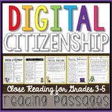 Digital Citizenship Reading Passages